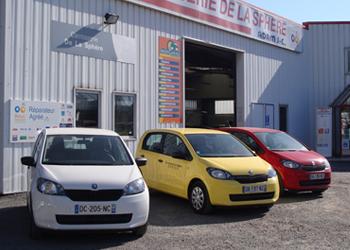 Carrosserie de la Sphère à Hérouville : véhicules de prêt